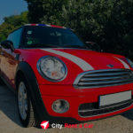 City Rent A Car Golden Sands Bulgaria Mini Cooper
