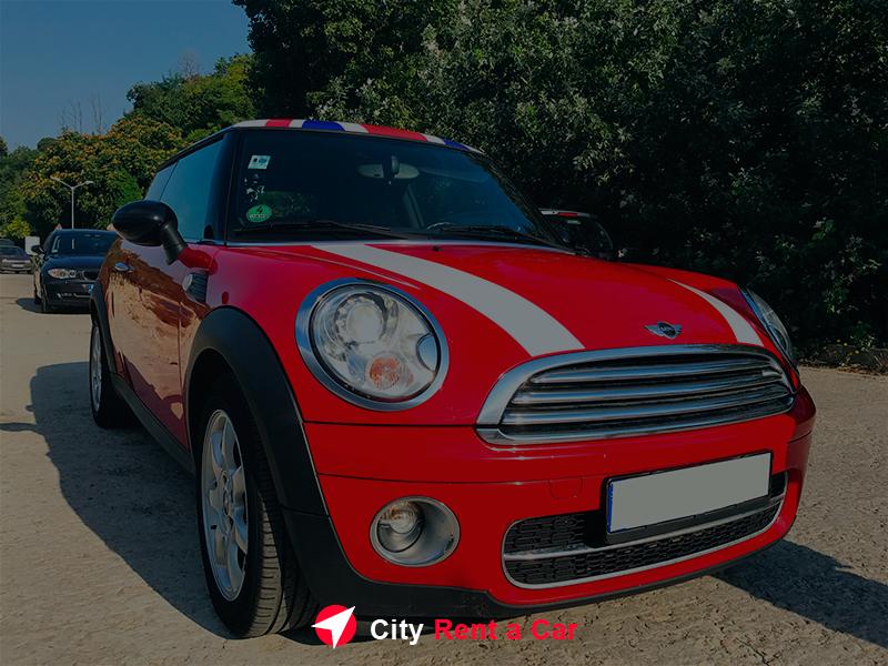 City Rent A Car Golden Sands Bulgaria Mini Cooper