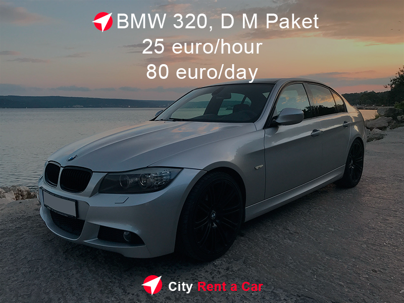 Rent BMW 320 for Wedding.