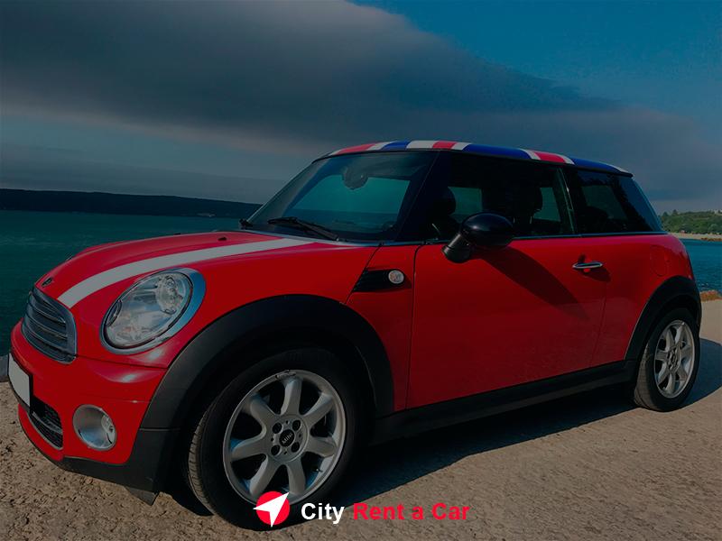 City Rent A Car Varna Bulgaria MiniCooper