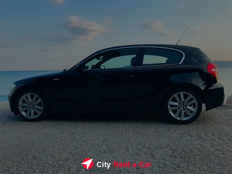 City Rent A Car for Wedding Golden Sands, BMW 118d