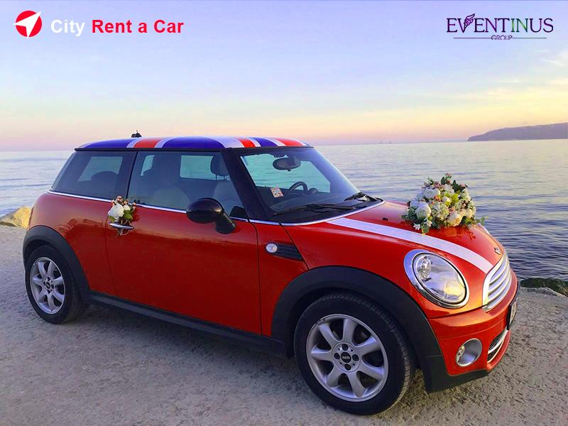 Rent Mini Cooper for Wedding