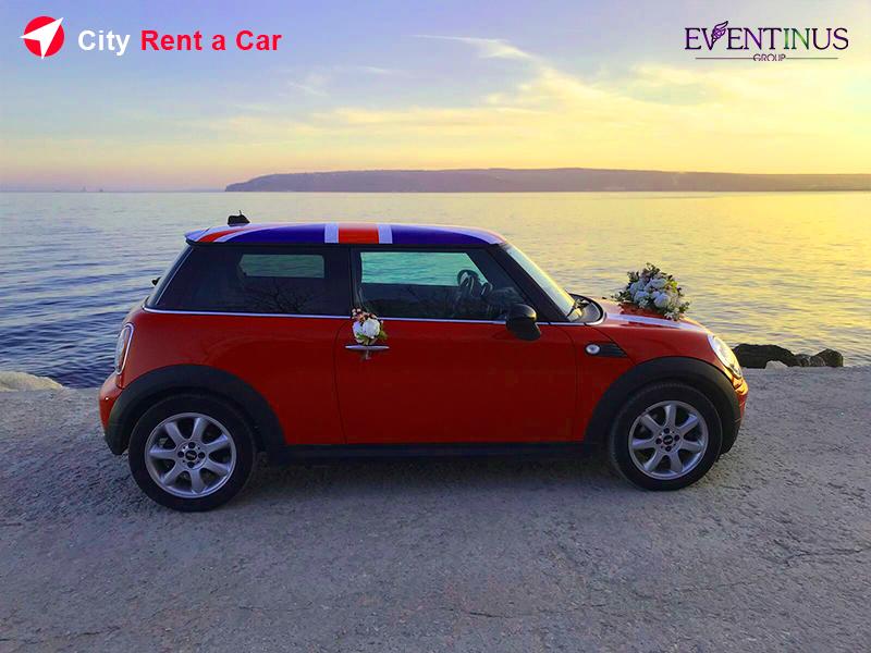 Rent Mini Cooper for Wedding Varna