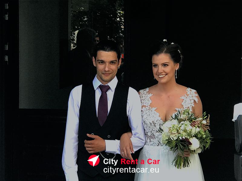 Кола наем сватба Варна