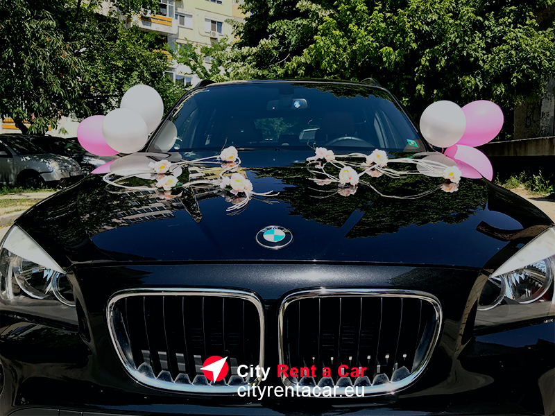 БМВ под наем за сватба Варна