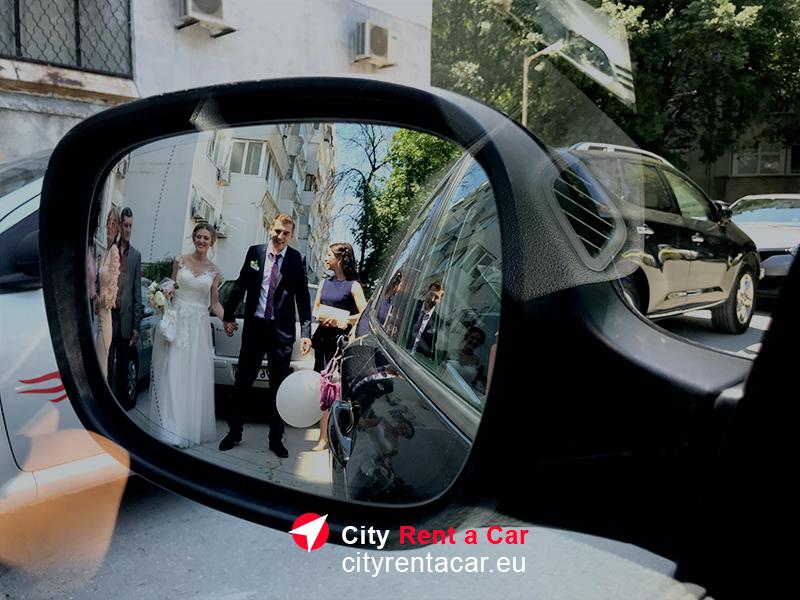 BMW под наем за сватба Варна