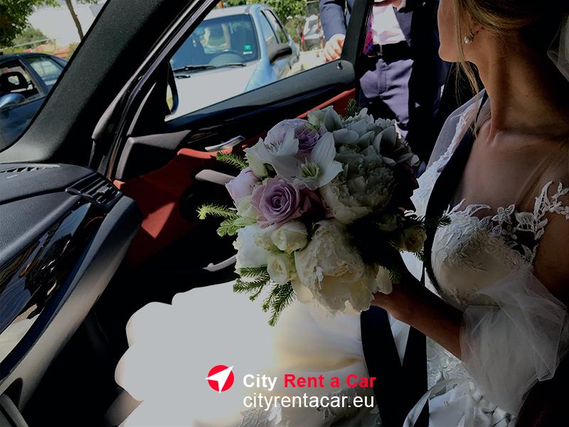 Кола под наем за сватба Златни Пясъци