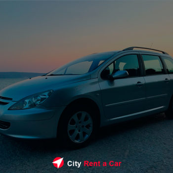 City Rent A Car Golden Sands Bulgaria Pegeou307