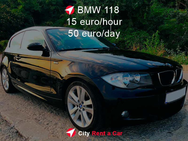 Rent BMW 118 in Sunny Beach